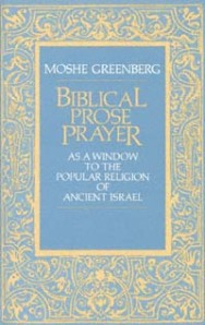 Biblical Prose Prayer