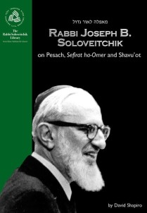 Rabbi Soloveitchik on Pesach 9657108640